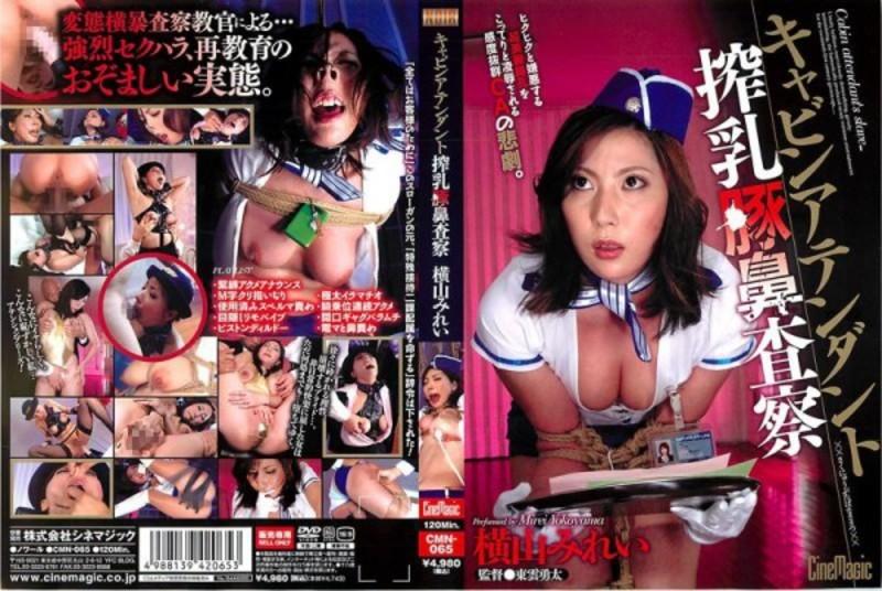 CMN-065 Mirei Yokoyama Inspección ordeñadora asistente de cabina de nariz de cerdo - Yokoyama Mirei