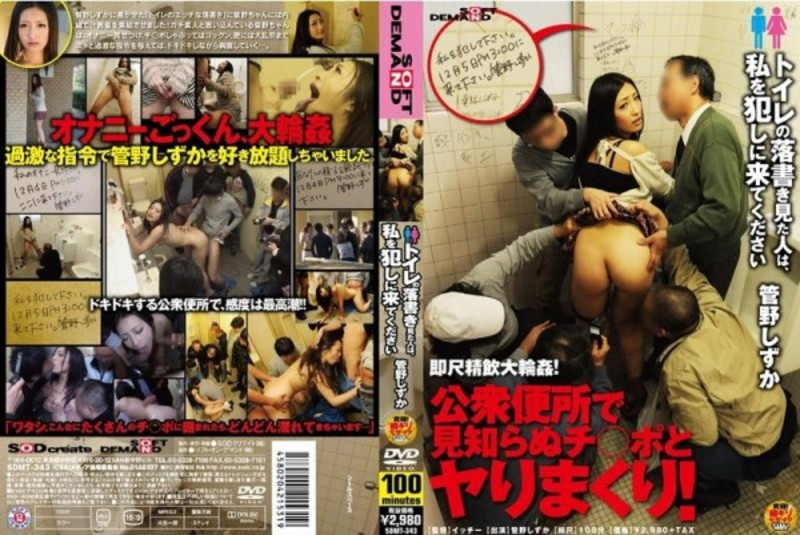 SDMT-343 People Who Looked At The Toilet Graffiti, Quiet Kanno Please Come To Me Committed – Kanou Hana, Kanno Shizuka