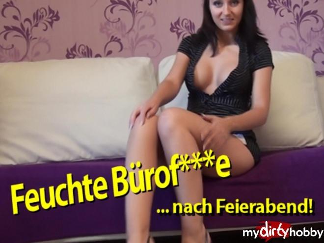599222-Feuchte-Buerofotze-nach-Feierabend - seXXygirl - Mydirtyhobby - Na-eto eto, Solo