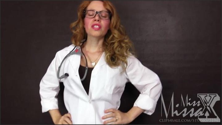 your worst nightmare female doctor – Miss Missa X – N/a, Miss Missa X
