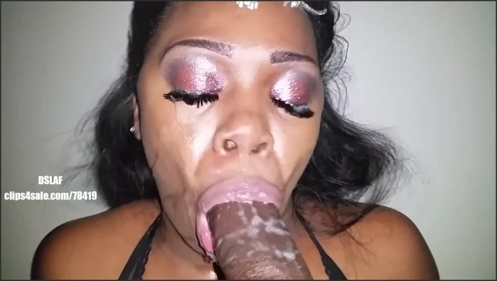 Face mouth cum and
