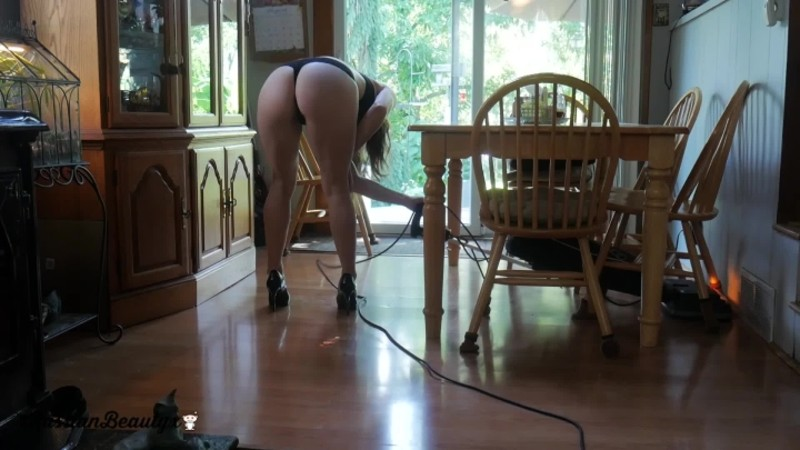 madison marz cleaning day fun – Madison Marz – High Heels, Vacuuming