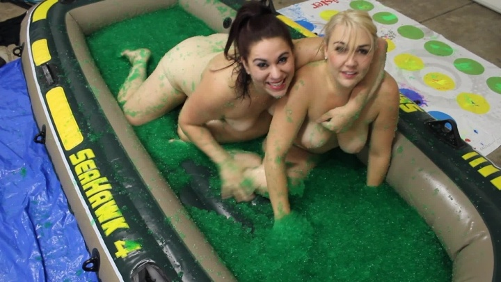 mandybabyxxx jello wrestling fight – mandybabyxxx – Female Wrestling, Fantasy Wrestling