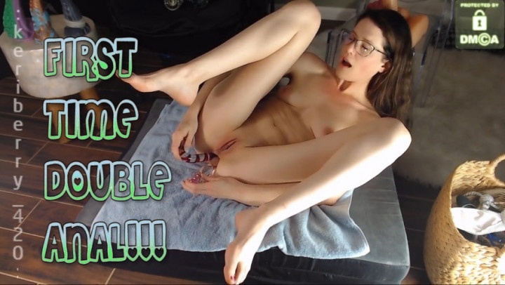 keri berry trying double anal live show – Keri Berry – Live Cams, Anal Play