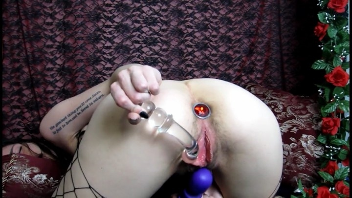 midnightmademoiselle plug play part 1 amp 2 anal play amp fuck - MidnightMademoiselle - Tattoos, Anal Play