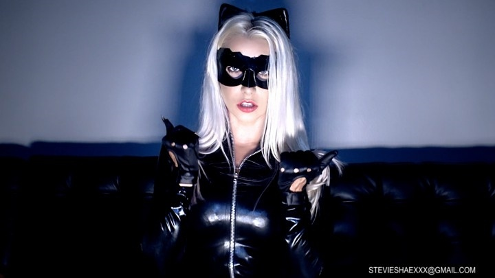 stevie shae slutty cosplay catwoman masturbation – Stevie Shae – Comic Book Role Play, Pussy Spreading