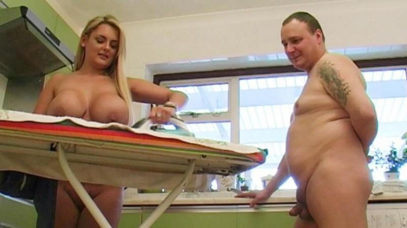 beefybanger katie big boobed nudist kitchen 3 – BeefyBanger – Ironing, BeefyBanger